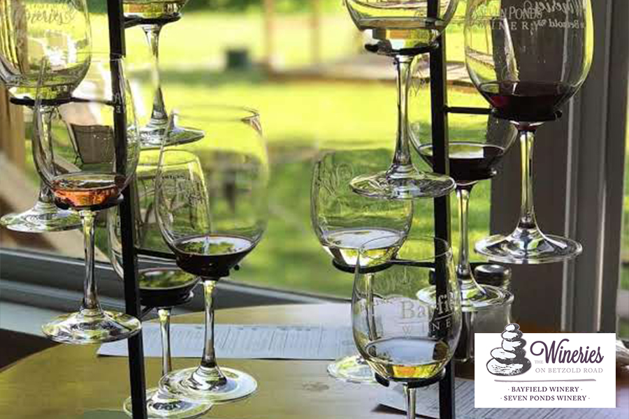 Bayfield Winery and Seven Ponds Winery
